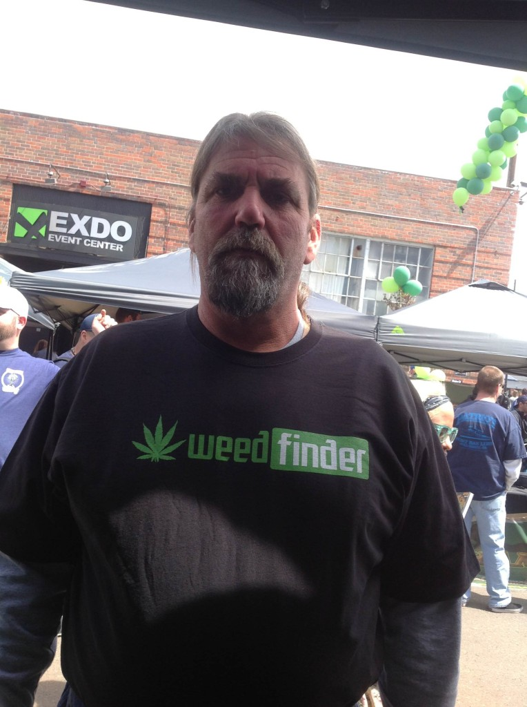 WeedFinder Advocate at US Cannabis Cup