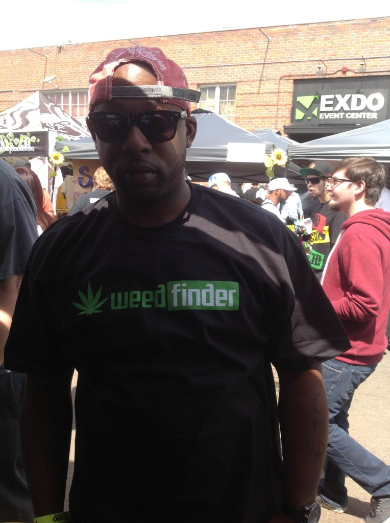 Another WeedFinder Advocate at the US Cannabis Cup