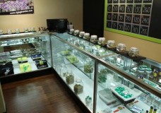 Inside the medication room at Truly Helpful Collective, one of 11 Seattle-area medical marijuana dispensaries recently targeted for closure by the DEA.
