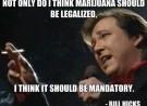 Comedian Bill Hicks on the Legalization of Marijuana
