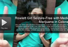 Nine Year Old Texas Girl 22 Days Seizure-Free with Cannabis Oil