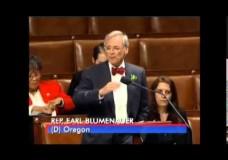 Oregon Rep Regulates in House Debate Over Veterans Affairs Policies on Medical Marijuana [VIDEO]