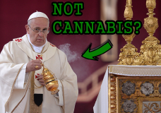 Pope Strongly Against the Legalization of Recreational Marijuana