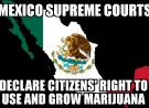 MEXICO: Supreme Court Ruling Sets Stage for Recreational Marijuana