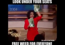 Oprah Gave Away Marijuana to Her Audience?