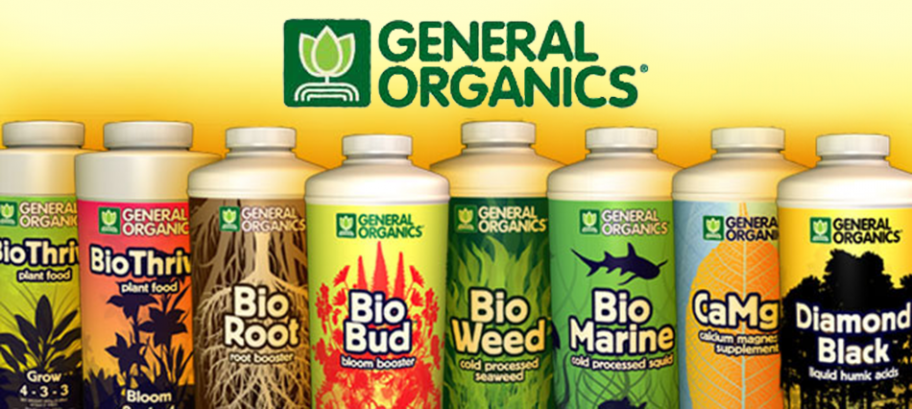 General Hydroponics general organics grow shop nutrients grow supplies