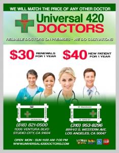 Universal 420 Doctors