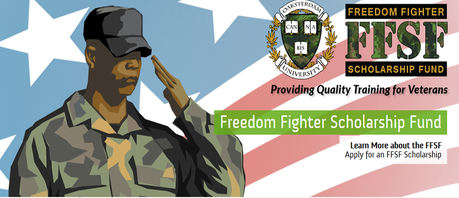 Veterans Freedom Fighter Scholarship Fund Oaksterdam